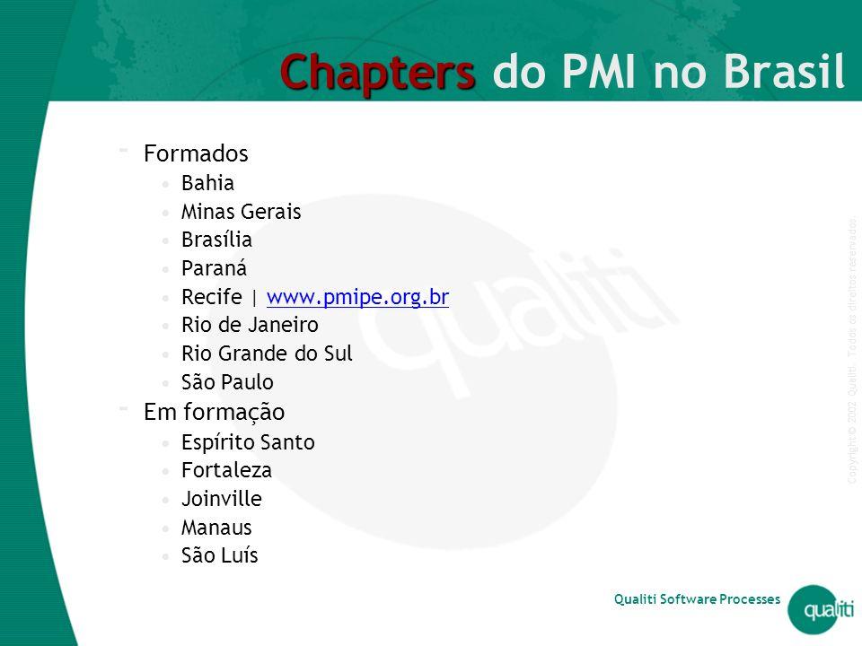 Chapters do PMI no Brasil