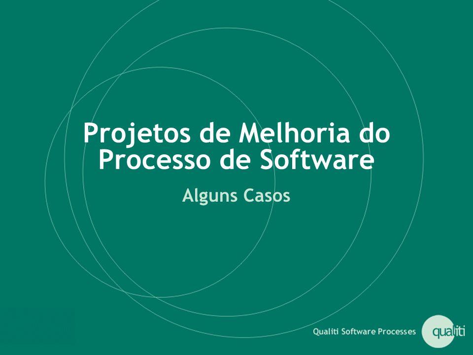 Projetos de Melhoria do Processo de Software