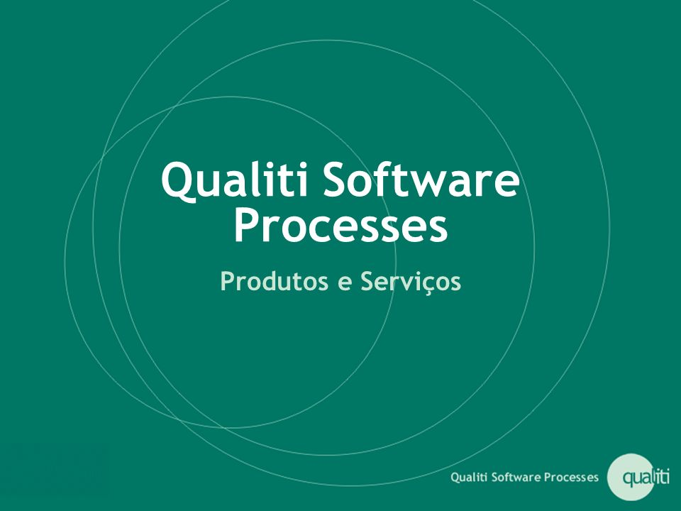 Qualiti Software Processes