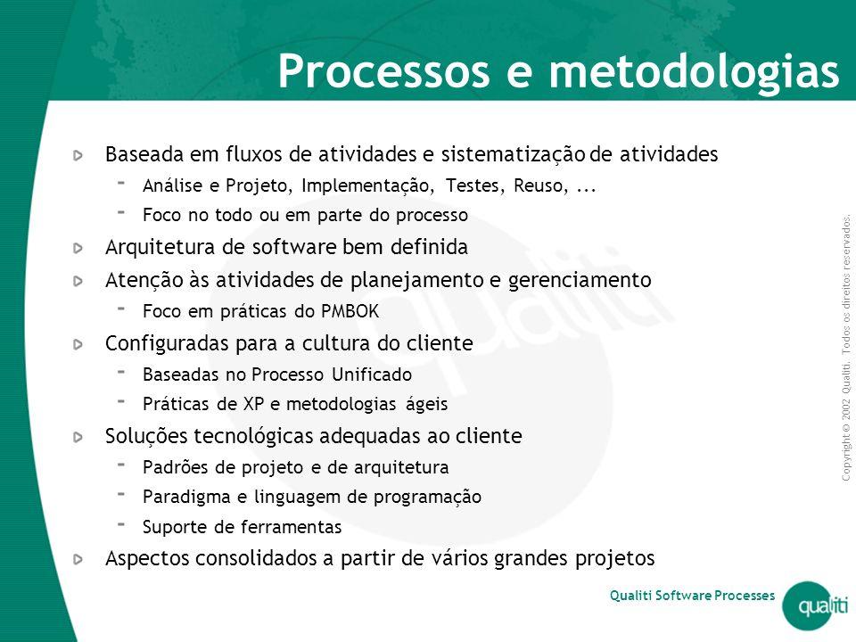 Processos e metodologias