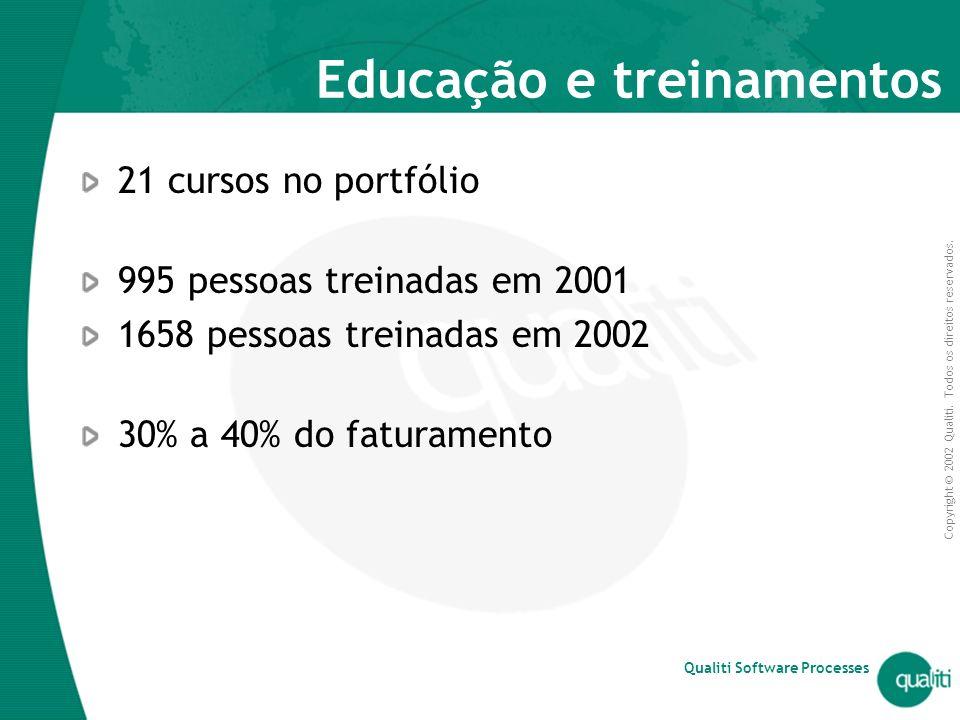 Educação e treinamentos