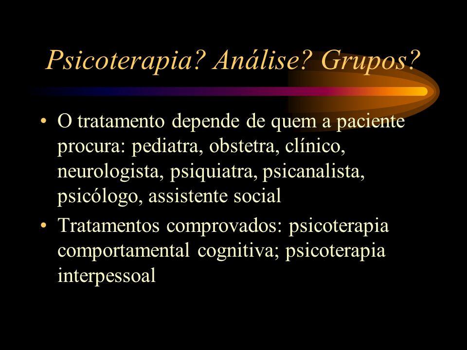 Psicoterapia Análise Grupos