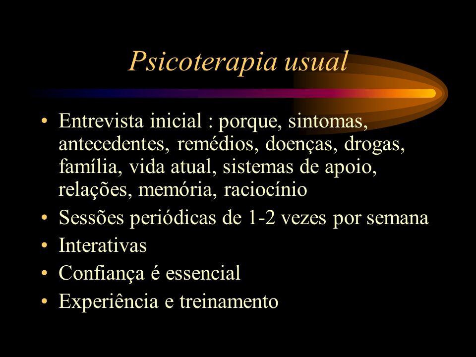 Psicoterapia usual