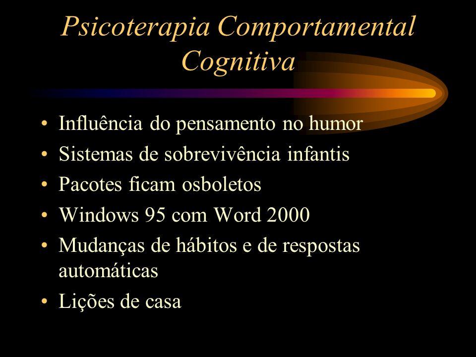 Psicoterapia Comportamental Cognitiva