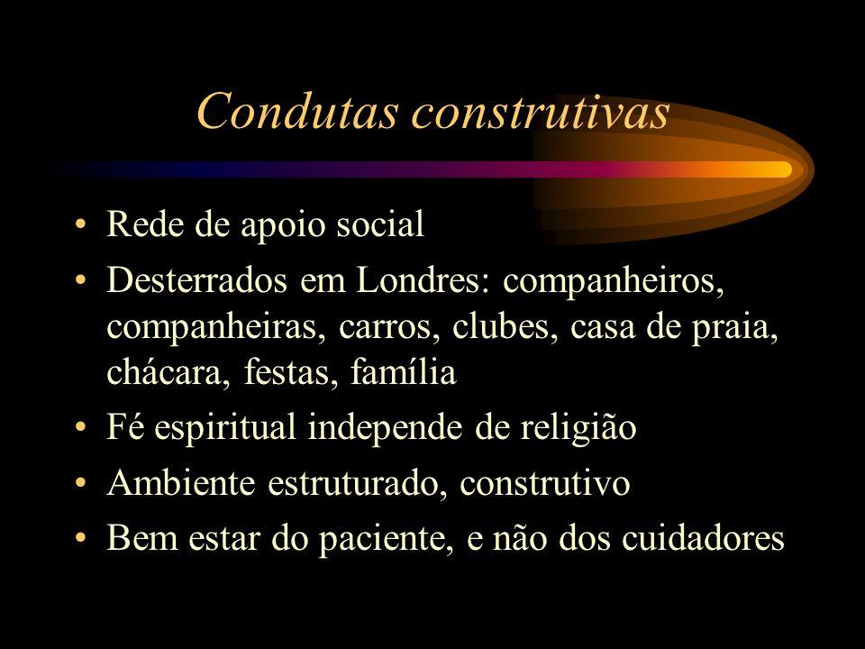 Condutas construtivas