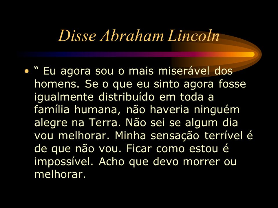 Disse Abraham Lincoln