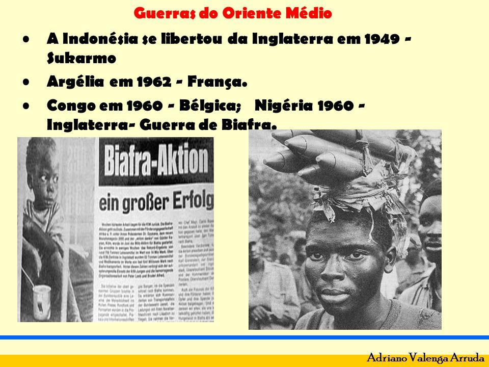 A Indonésia se libertou da Inglaterra em 1949 - Sukarmo