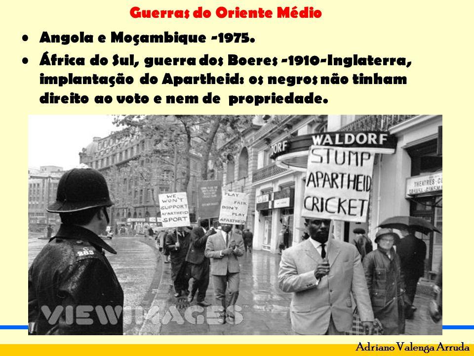 Angola e Moçambique -1975.