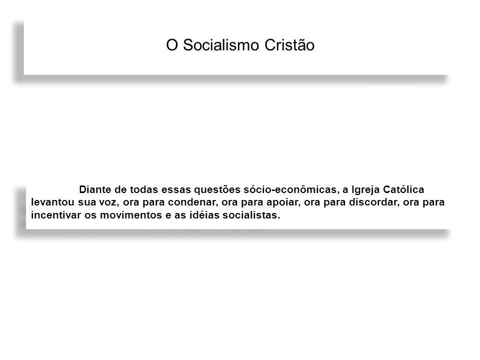 O Socialismo Cristão