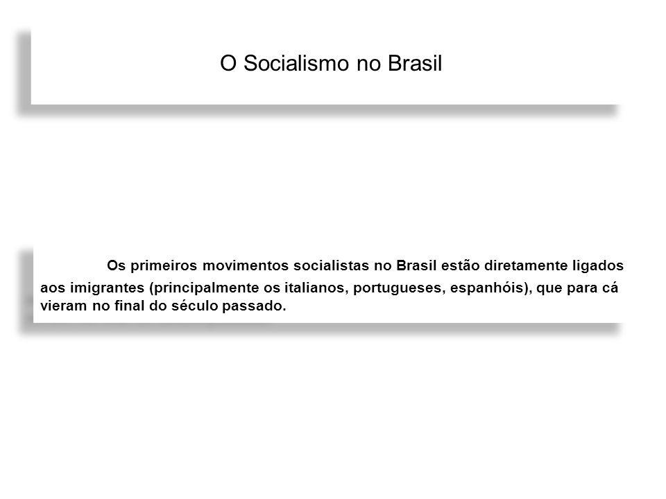 O Socialismo no Brasil