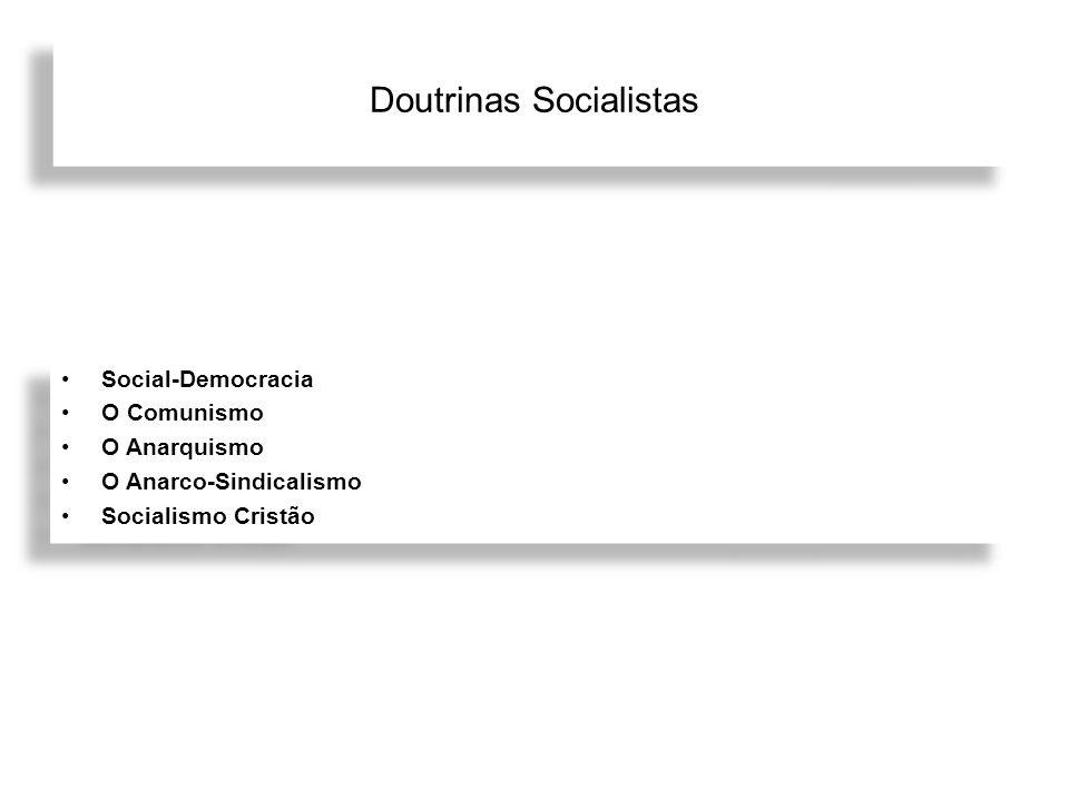 Doutrinas Socialistas