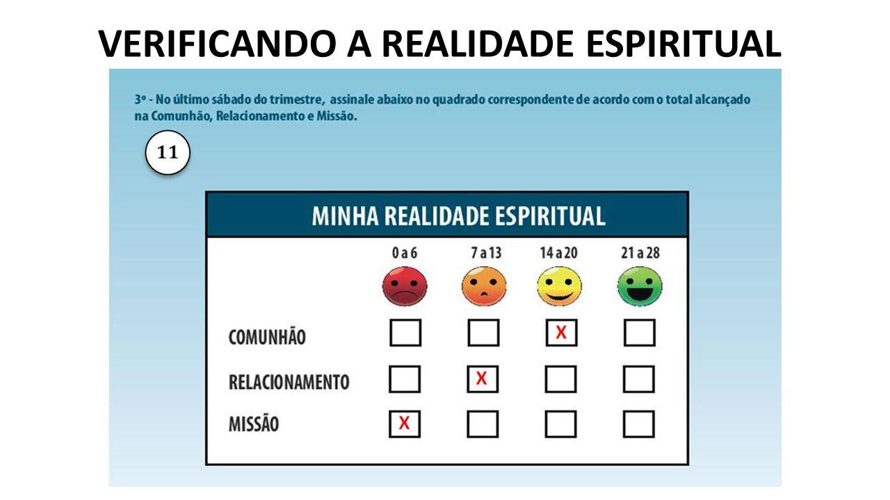 VERIFICANDO A REALIDADE ESPIRITUAL