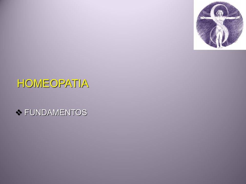 HOMEOPATIA FUNDAMENTOS