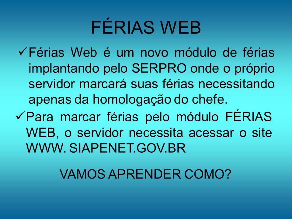 FÉRIAS WEB