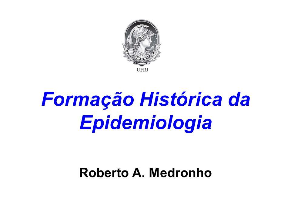 Formação Histórica da Epidemiologia