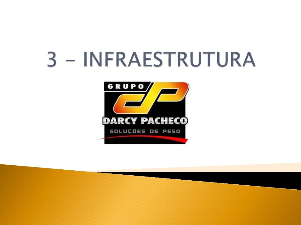 3 - INFRAESTRUTURA