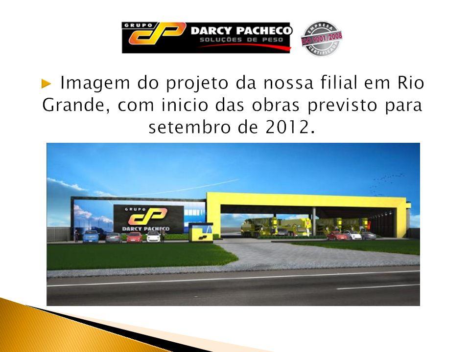 Imagem do projeto da nossa filial em Rio Grande, com inicio das obras previsto para setembro de 2012.