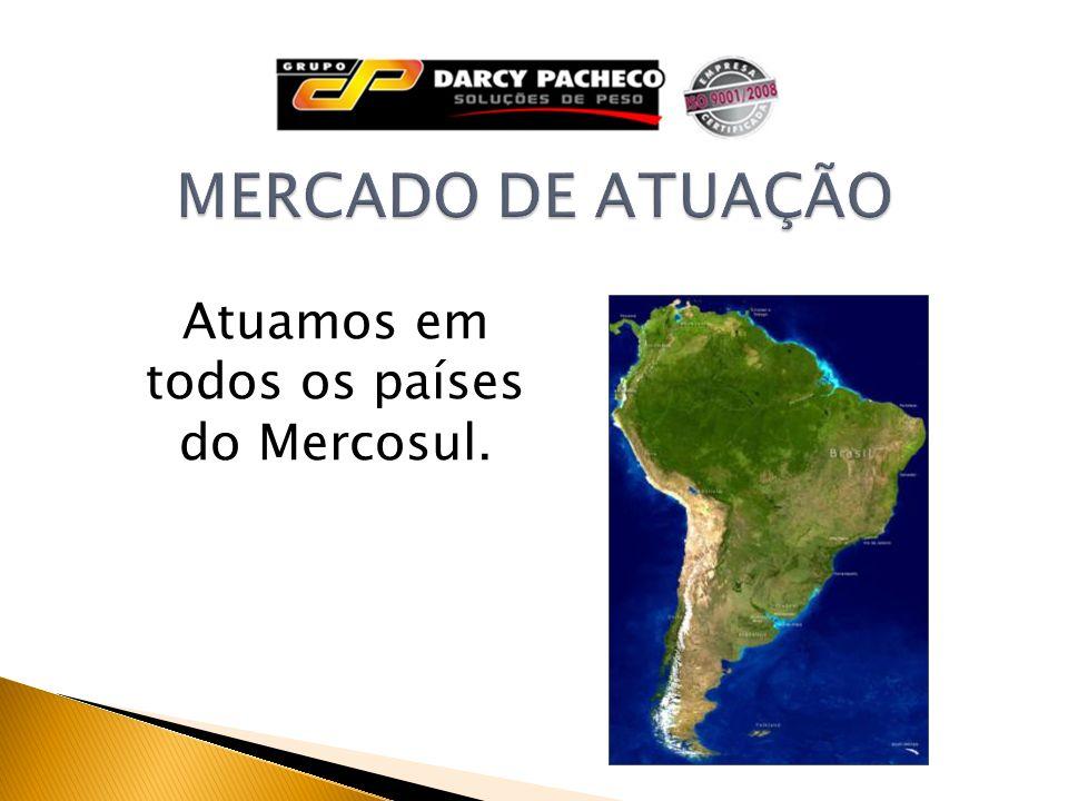 Atuamos em todos os países do Mercosul.