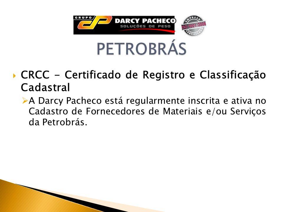 PETROBRÁS CRCC - Certificado de Registro e Classificação Cadastral