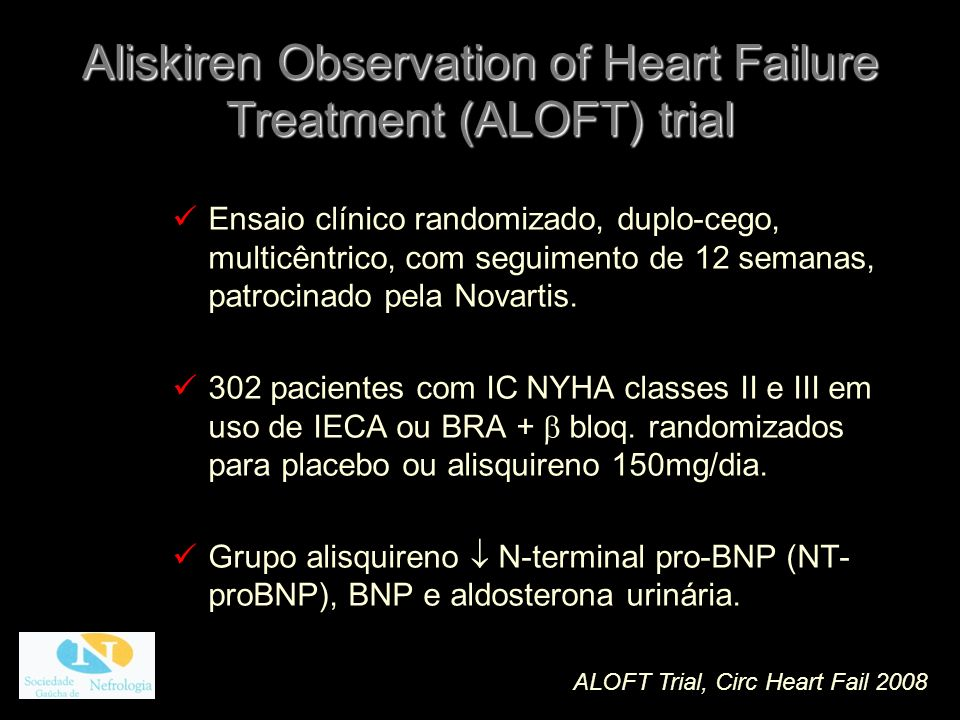 Aliskiren Observation of Heart Failure Treatment (ALOFT) trial