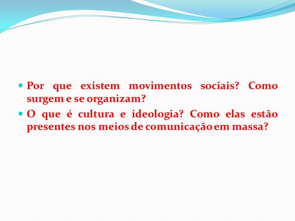 Por que existem movimentos sociais Como surgem e se organizam