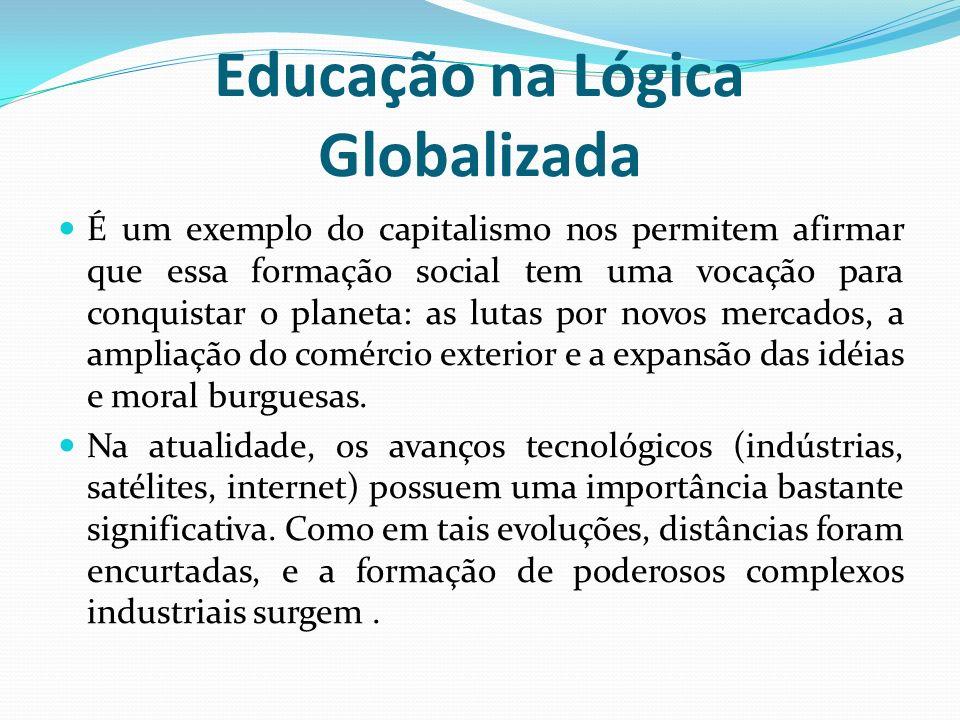 Educação na Lógica Globalizada