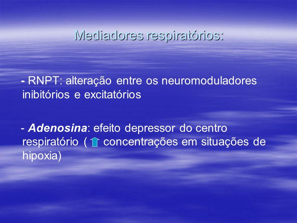Mediadores respiratórios: