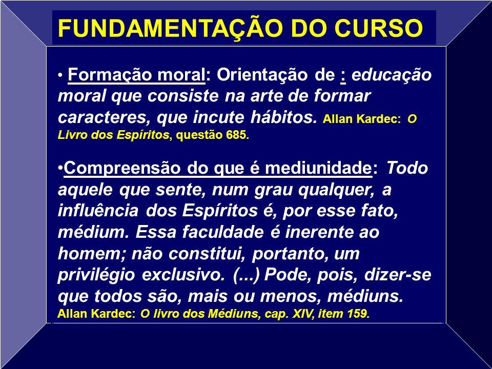 FUNDAMENTAÇÃO DO CURSO