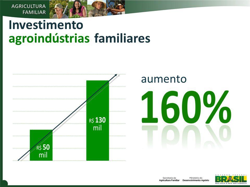 Investimento agroindústrias familiares