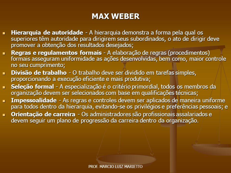 PROF. MARCIO LUIZ MARIETTO