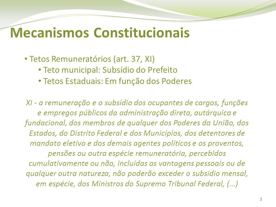 Mecanismos Constitucionais
