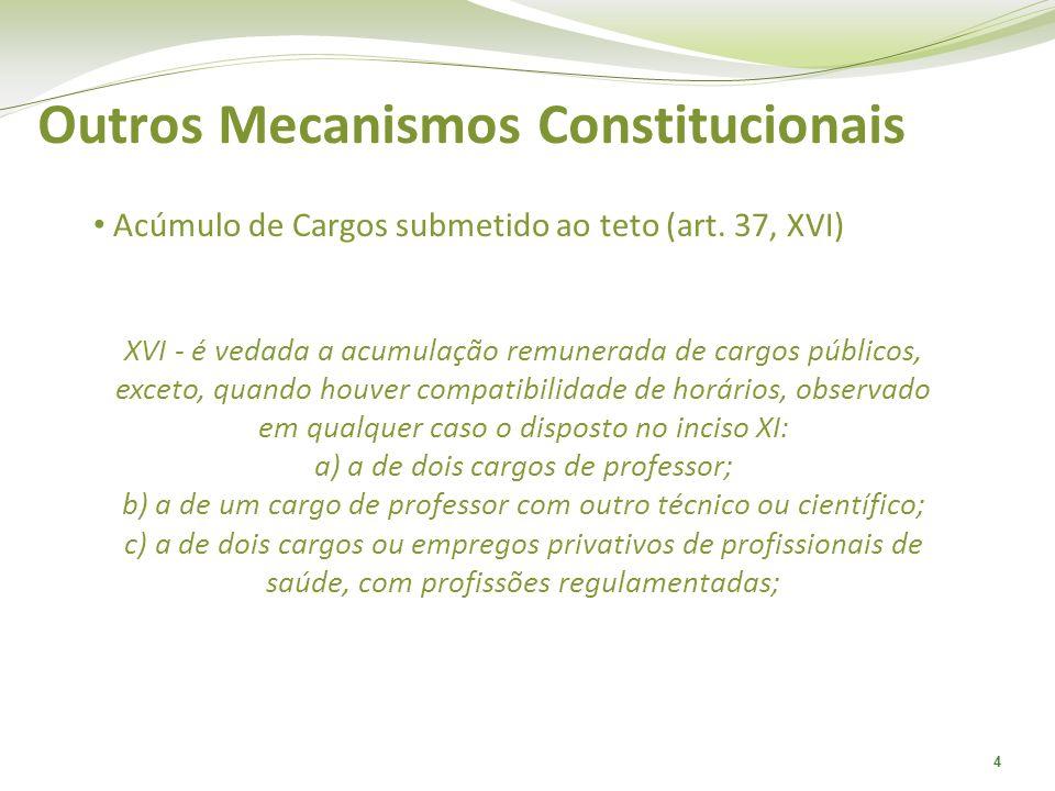 Outros Mecanismos Constitucionais