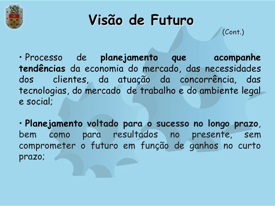 Visão de Futuro (Cont.)
