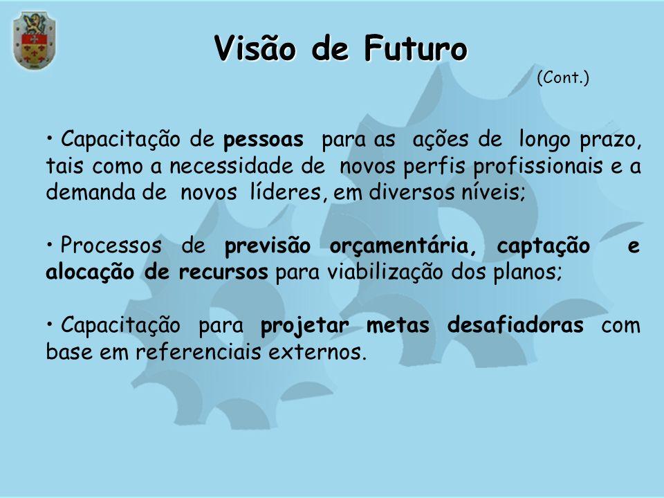 Visão de Futuro(Cont.)