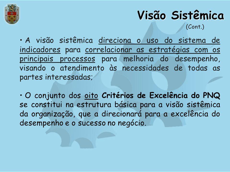 Visão Sistêmica(Cont.)