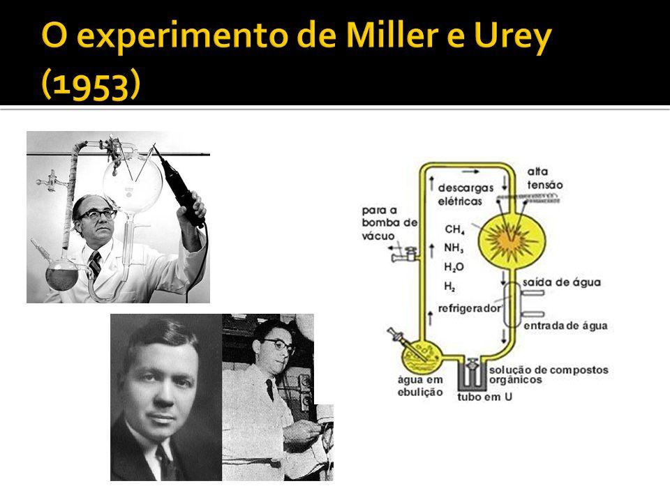O experimento de Miller e Urey (1953)