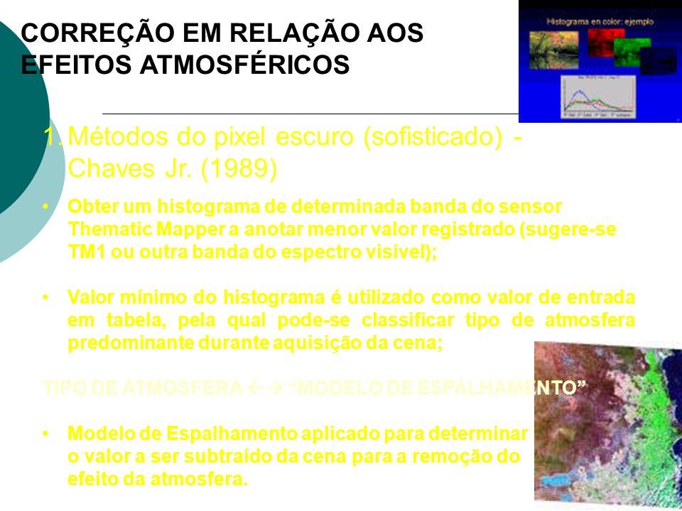 CORREÇÃO EM RELAÇÃO AOS EFEITOS ATMOSFÉRICOS