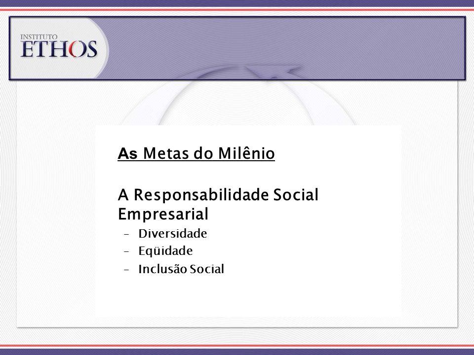A Responsabilidade Social Empresarial