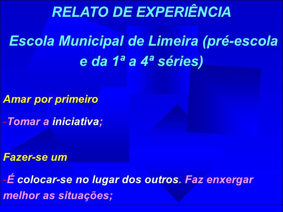 Escola Municipal de Limeira (pré-escola e da 1ª a 4ª séries)