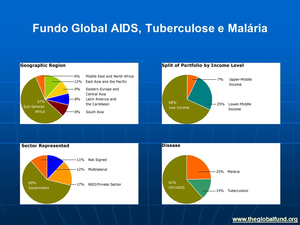 Fundo Global AIDS, Tuberculose e Malária