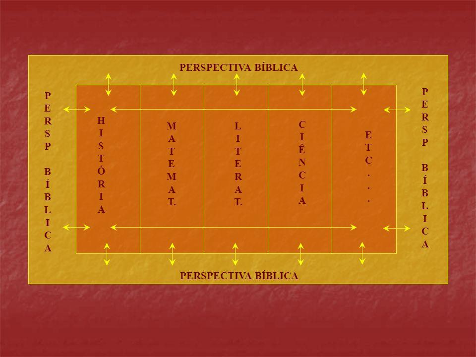 P E R S B Í L I C A PERSPECTIVA BÍBLICA M T T. H Ó Ê N .