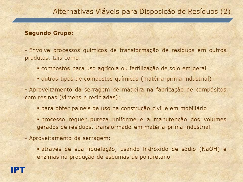 IPT Alternativas Viáveis para Disposição de Resíduos (2)