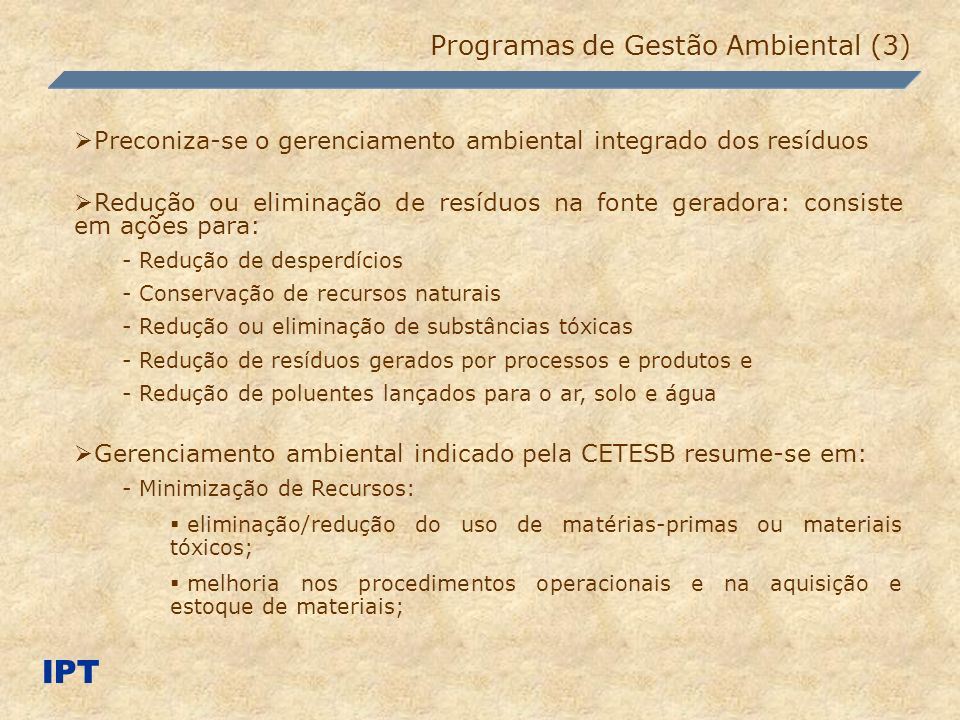 IPT Programas de Gestão Ambiental (3)