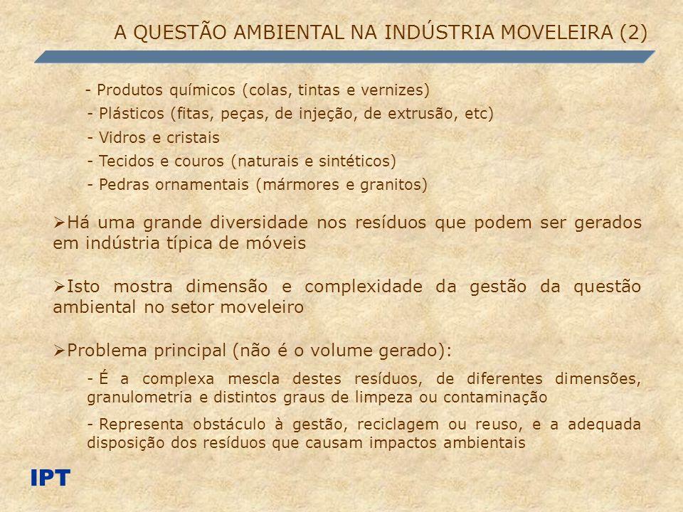 IPT A QUESTÃO AMBIENTAL NA INDÚSTRIA MOVELEIRA (2)