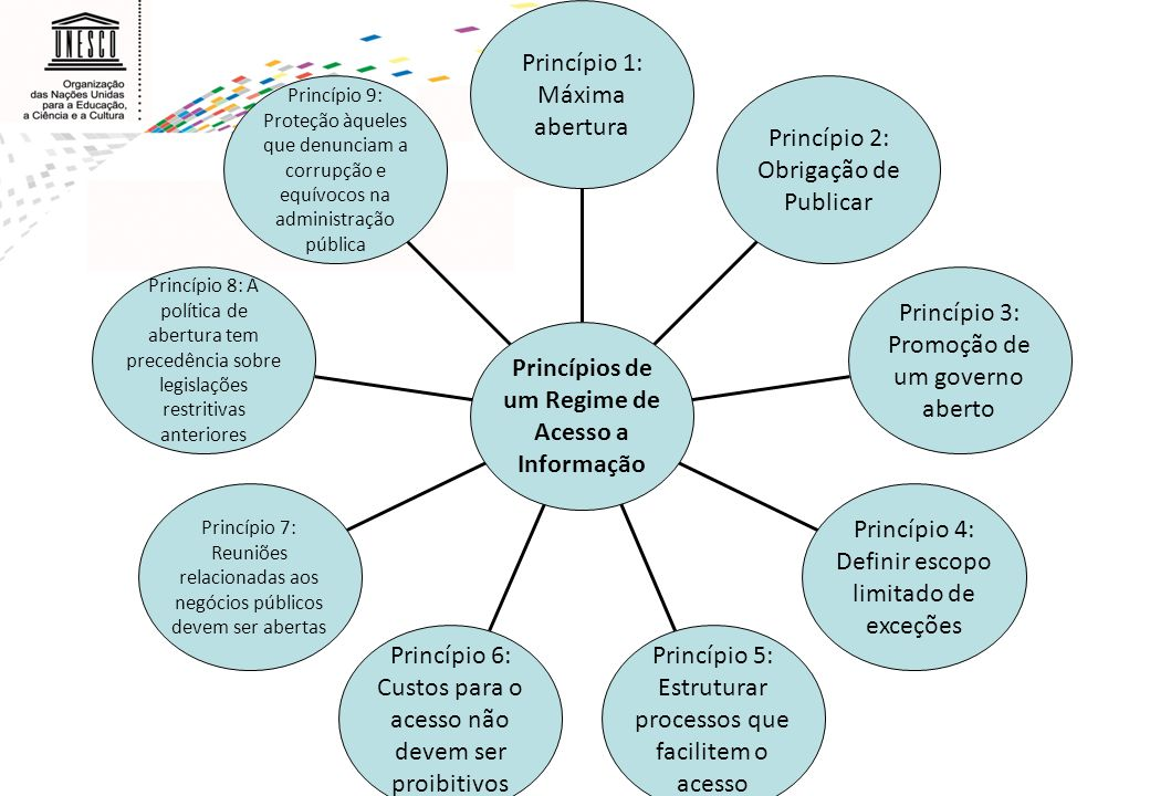 Princípios de um Regime de Acesso a Informação