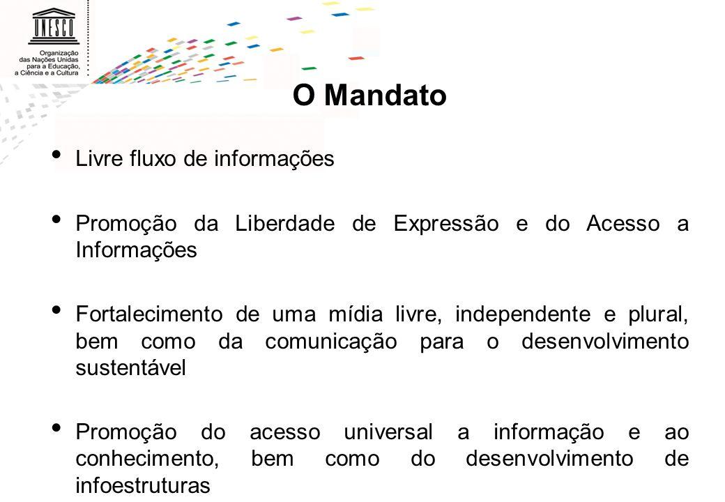 O Mandato Livre fluxo de informações