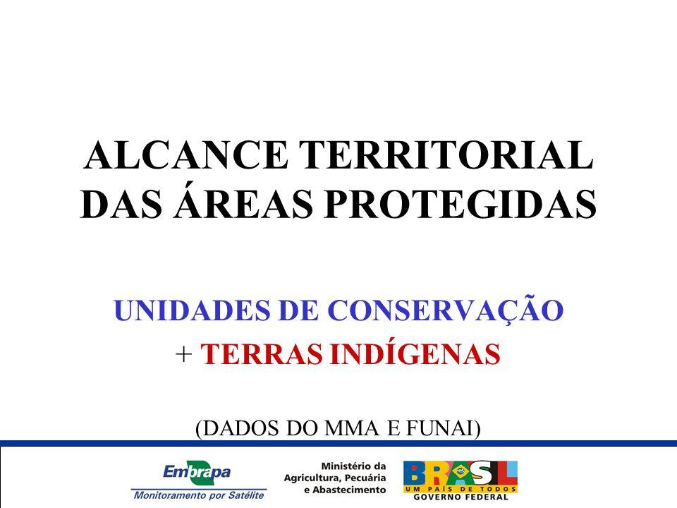 ALCANCE TERRITORIAL DAS ÁREAS PROTEGIDAS
