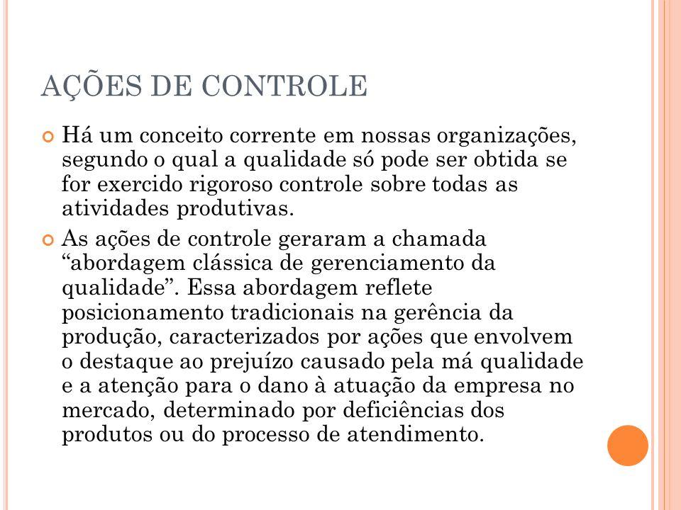 AÇÕES DE CONTROLE