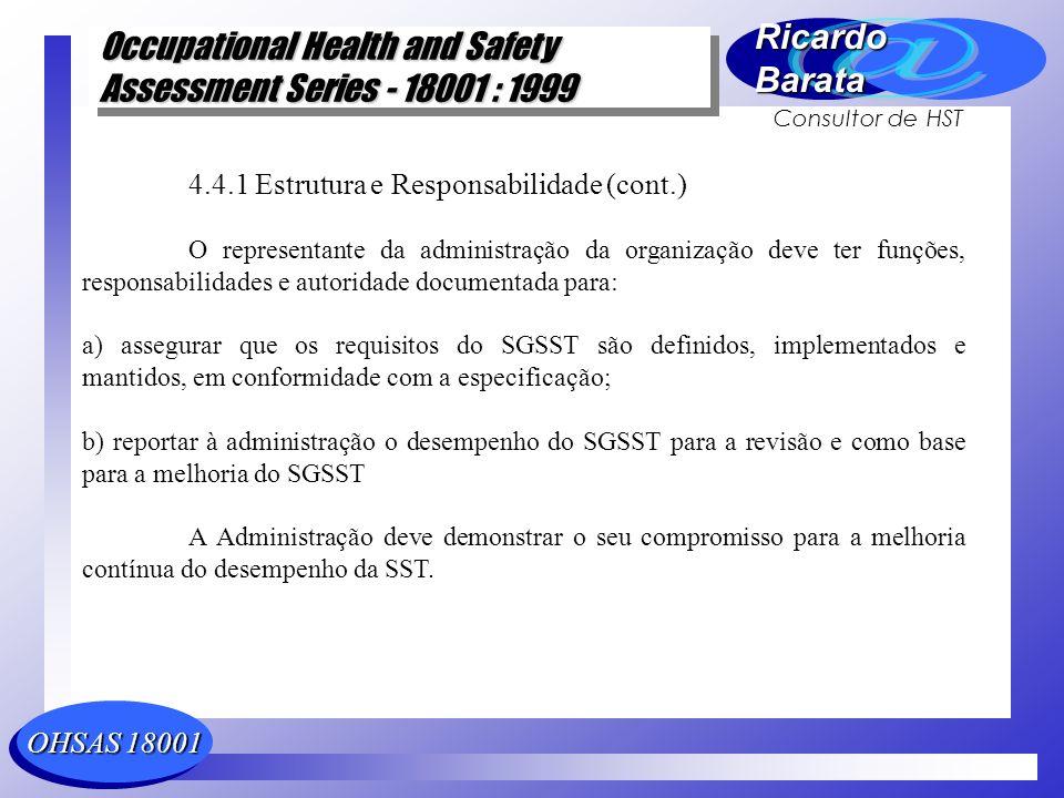 4.4.1 Estrutura e Responsabilidade (cont.)