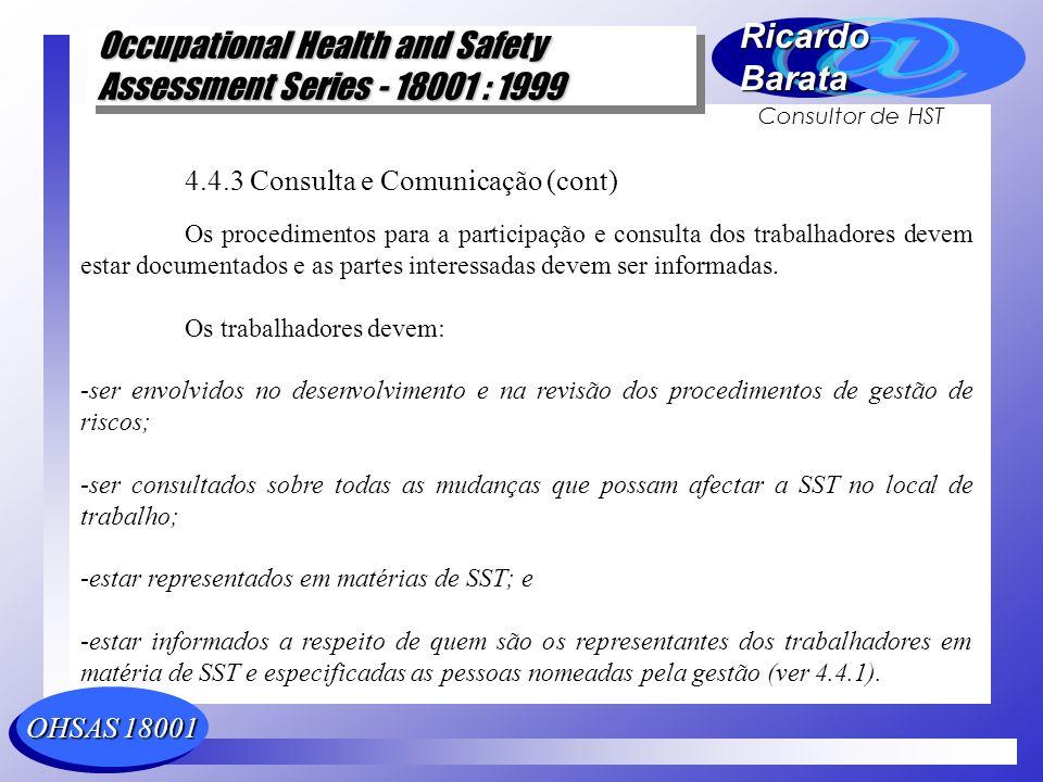 4.4.3 Consulta e Comunicação (cont)
